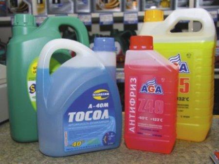 Разница между тосолом и антифризом